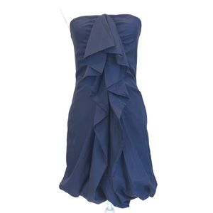 BARNEY'S CO-OP | Strapless Cocktail Dress